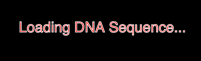 Loading DNA Sequence